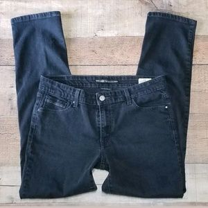 Levis jeans Black Midrise Skinny 12 stretch